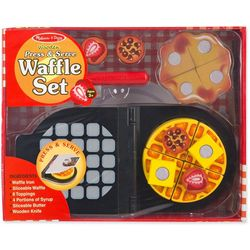 Melissa & Doug Wooden Press & Serve Waffle