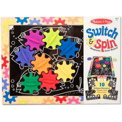 Melissa & Doug Switch & Spin Magnetic Gear
