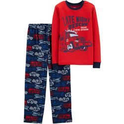 Carters Little Boys Late Night Rescue Pajama Set