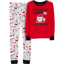 Carters Little Boys I've Been Good-ish This Year Pajama Set