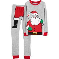 Carters Little Boys Santa Suit Pajama Set