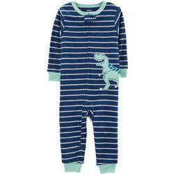 Carters Toddler Boys Dinosaur Stripes Snug Fit Pajamas