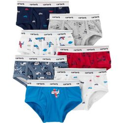 Carters Little Boys 7-pk. Airplanes & Cars Briefs