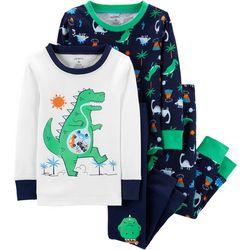 Carters Toddler Boys 4-pc. Dinosaur Pajama Set