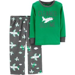 Carters Toddler Boys Cleared For Bedtime Pajama Set