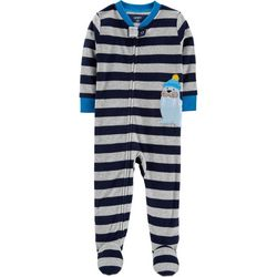 Carters Toddler Boys Striped Walrus Sleep & Play