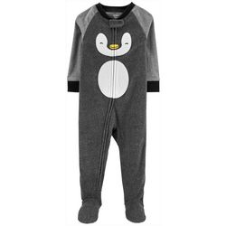 Carters Toddler Boys Penguin Fleece Sleep & Play