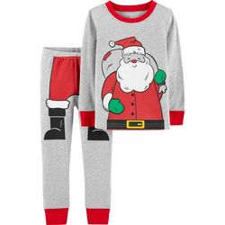 Carters Toddler Boys Santa Suit Pajama Set