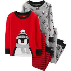 Carters Toddler Boys 4-pc. Penguin Pajama Set