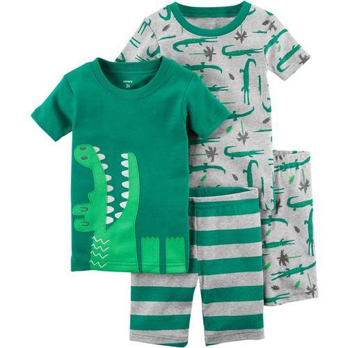 3a0a19c57 Carters Toddler Boys 4-pc. Gator Pajama Set