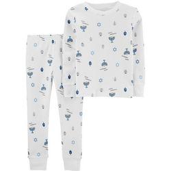 Carters Toddler Boys Happy Hanukkah Pajama Pants Set