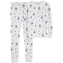Carters Little Boys Happy Hanukkah Pajama Pants Set