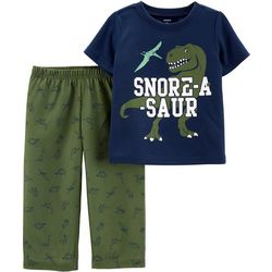 Carters Toddler Boys Snore-A-Saur Dinosaur Pajama Pants Set