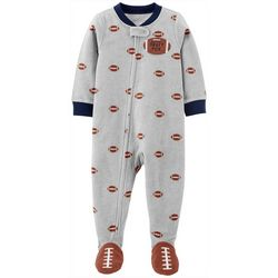 Carters Toddler Boys Draft Pick Snug Fit Footie Pajamas