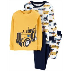 Carters Little Boys 4-pc. Hauling Off To Bed
