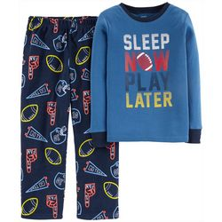 Carters Little Boys Sleep Now Play Later Pajama