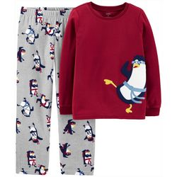Carters Little Boys Ninja Penguin Pajama Pants Set