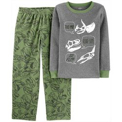 Carters Little Boys Roar-Some Dinosaur Pajama Pants Set