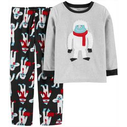 Carters Little Boys Winter Yeti Pajama Pants Set