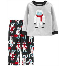 Carters Toddler Boys Winter Yeti Pajama Pants Set