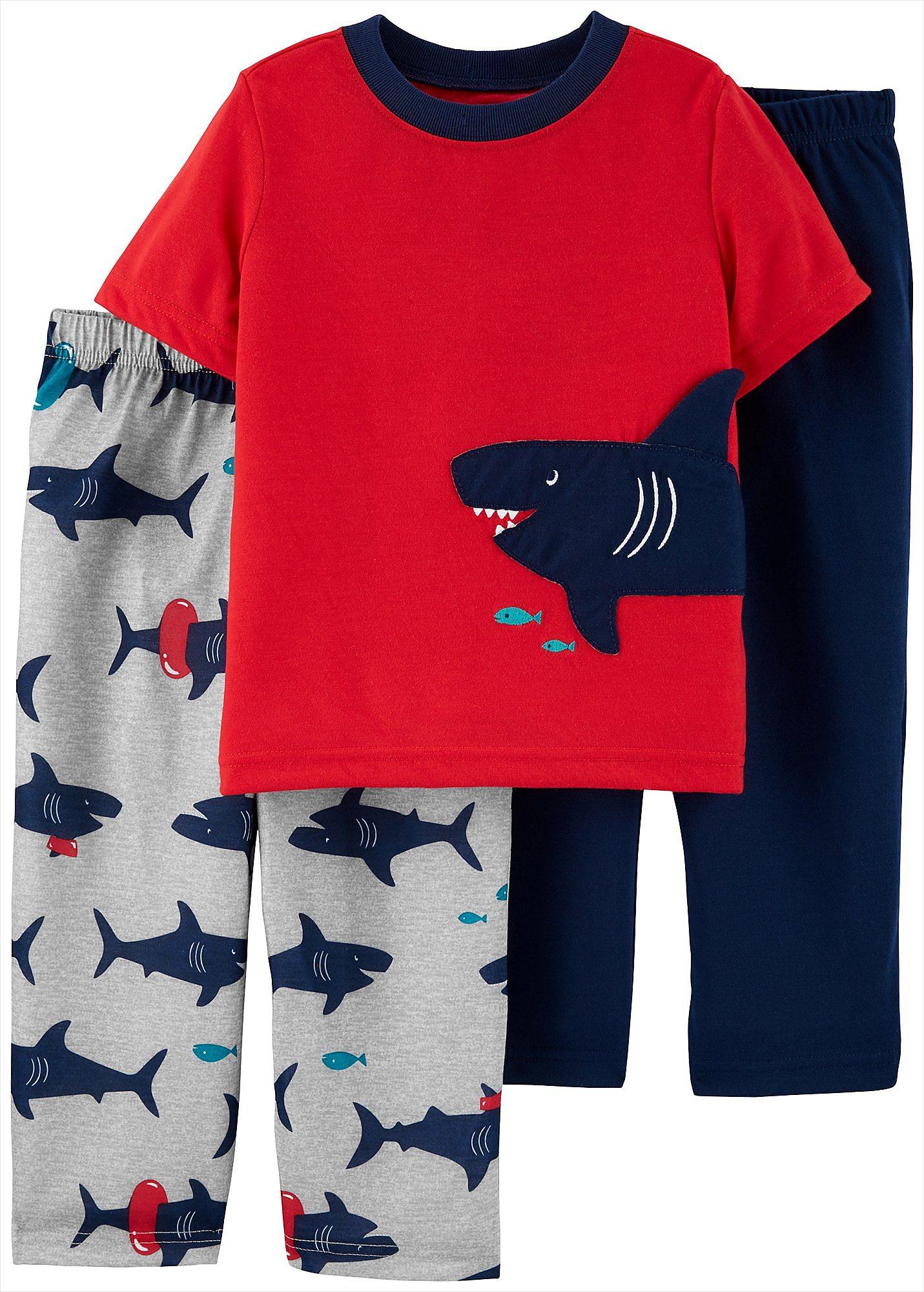 Long Sleeve Pajama Set NWT CARTER/'S® 4T Boys/' /'Later Gator/' 3-pc