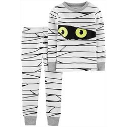Carters Toddler Boys 2-pc. Glow-in-the-Dark Mummy Pajamas