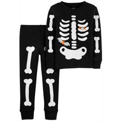 Carters Toddler Boys 2-pc. Glow-in-the-Dark Bones Pajamas