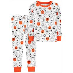 Carters Toddler Boys 2-pc. Pumpkin Print Pajama Set