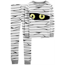 Carters Little Boys 2-pc. Glow-in-the-Dark Mummy Pajamas