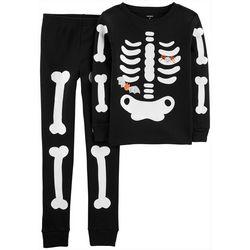 Carters Little Boys 2-pc. Glow-in-the-Dark Bones Pajamas