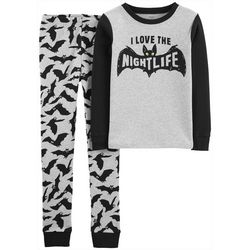 Carters Little Boys 2-pc. Glow-in-the-Dark Bats Pajamas