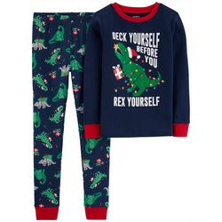Carters Little Boys Deck Yourself Rex Pajama Pants