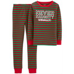 Carters Little Boys Never Naughty Pajama Pants Set