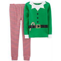 Carters Little Boys Elf Suit Pajama Pants Set