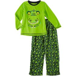 Only Boys Little Boys 2-pc. Lift Me Up Gator Pajama Set