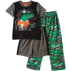 Only Boys Little Boys 3-pc. Later Gator Pajama Set