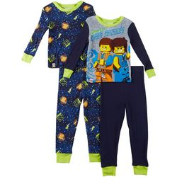 Lego Little Boys 4-pc. Vest Friends Pajama Pants Set