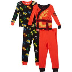 Lego Little Boys 4-pc. Ninjago Pajama Pants Set