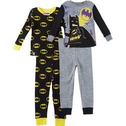 Lego Batman Big Boys 4-pc. Bat Logo Pajama Pants Set