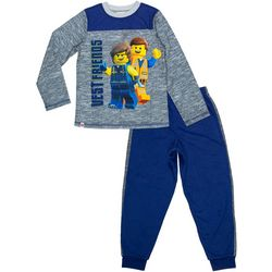 Lego Big Boys 2-pc. Vest Friends Pajama Pants Set