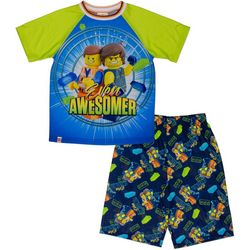 Lego Big Boys 2-pc. Even Awesomer Shorts Set