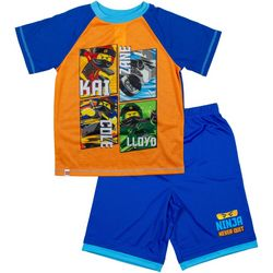 Lego Ninja Big Boys 2-pc. Never Quit Pajama Set
