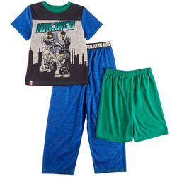 Lego Ninjago Big Boys 3-pc. Masters Pajama Set