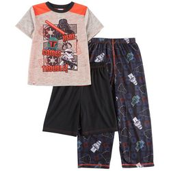 Lego Star Wars Big Boys 3-pc. Trouble Pajama Set