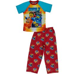 Lego Little Boys 2-pc. Built To Last Pajama Set