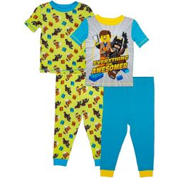 Lego Toddler Boys 4-pc. Everything Is Awesome Pajama Set
