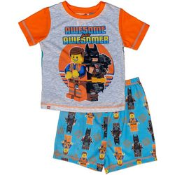 Lego Batman Toddler Boys 2-pc. Awesomer Pajama Set