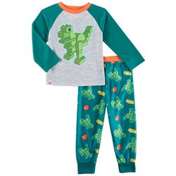 Lego Duplo Toddler Boys Dinosaur Pajama Set