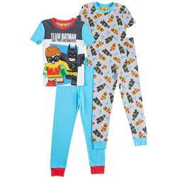 LEGO Batman Movie Little Boys 4-pc. Team Batman Pajamas