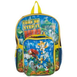 Sonic Kids Step It Up Duo Backpack & Lunchbox Set